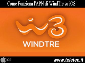 Come Configurare Internet su iPhone per Navigare con WindTre