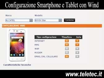 Come Configurare Smartphone e Tablet con Wind