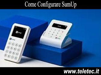 Come Configurare SumUp Air Manualmente
