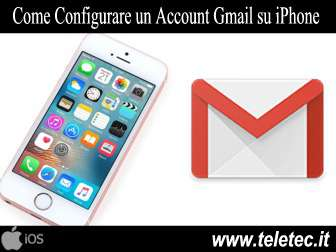 Come Configurare un Account Gmail su iPhone