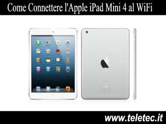 Come Connettere l'Apple iPad Mini 4 al WiFi