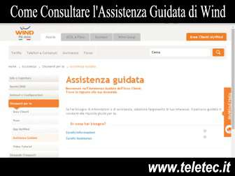Come Consultare l'Assistenza Guidata di Wind