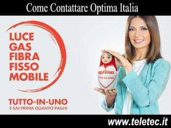 Come contattare optima italia