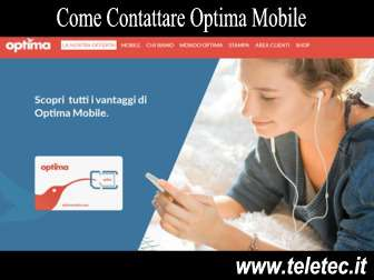 Come Contattare Optima Mobile