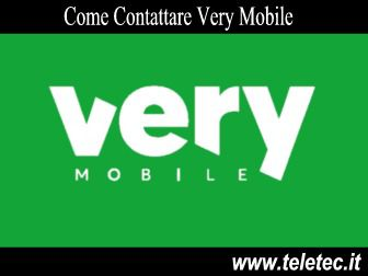 Come Contattare Very Mobile