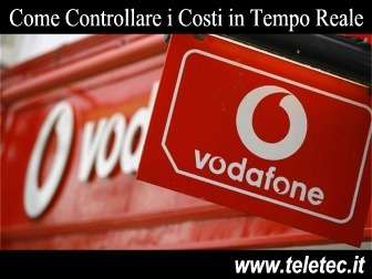 Come Controllare i Costi Vodafone in Tempo Reale