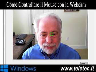 Come Controllare il Mouse con la Webcam e Senza Mani