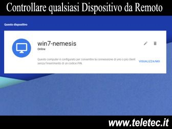 Come Controllare qualsiasi Dispositivo da Remoto - Remote Desktop Google