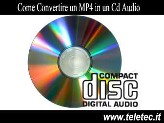 Come convertire da mp4 a mp3 e creare un cd audio