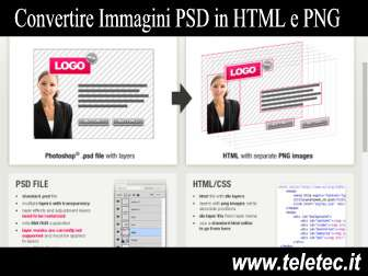 Come Convertire Immagini Photoshop in HTML e PNG Senza Photoshop