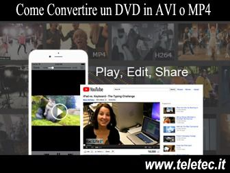 Come Convertire un DVD in AVI o MP4 con WinX DVD Ripper