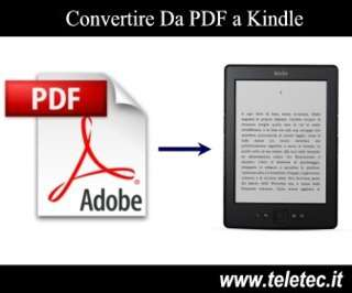 Come Convertire un File PDF o Word in Kindle