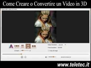 Come convertire un video da 2d in 3d