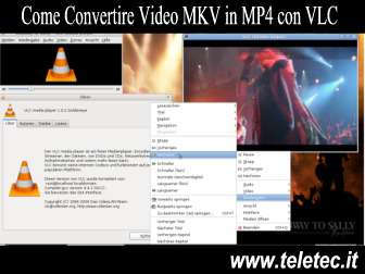 Come Convertire Video MKV in MP4 con VLC