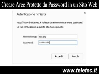 Come Creare Aree Protette da Password in un Dominio Web con Apache