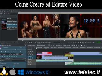 Come Creare ed Editare Video - Kdenlive