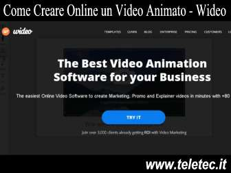 Come Creare Online un Video Animato - Wideo