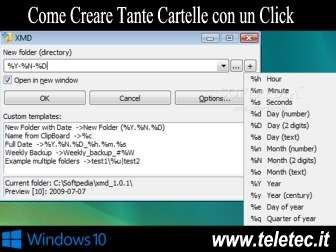 Come Creare Tante Cartelle su Windows con un Click - XMD