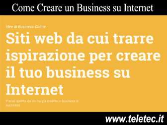 Come Creare un Business su Internet