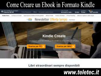 Come Creare un Ebook in Formato Kindle