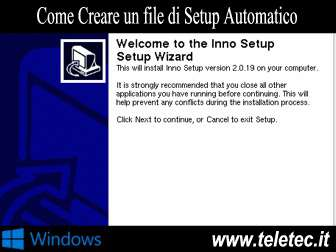 Come Creare un File di Installazione Automatica per Windows con Inno Setup