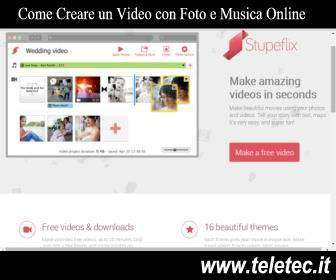 Come Creare un Video con Foto e Musica Online
