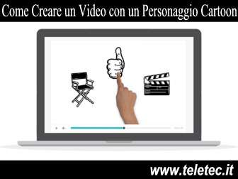 Come Creare un Video Online con un Personaggio in Stile Cartoon