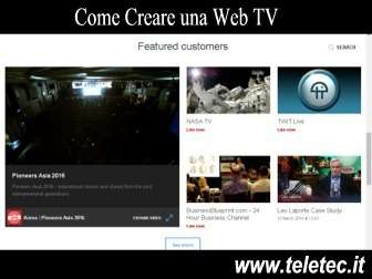 Come Creare una Web TV con una webcam o un telefonino