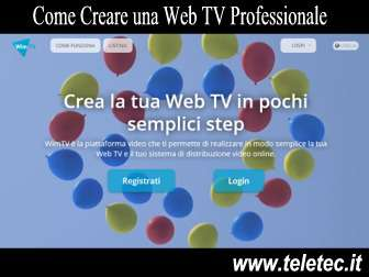 Come Creare una Web TV Professionale - WimTV