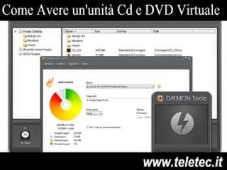Come Creare un'unità CD o DVD Virtuale