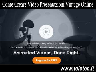 Come Creare Video Presentazioni Vintage o in 2D Online - Animaker