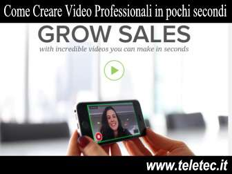 Come Creare Video Professionali in Pochi Secondi - Videolicious