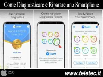 Come diagnosticare e riparare un iphone con testm