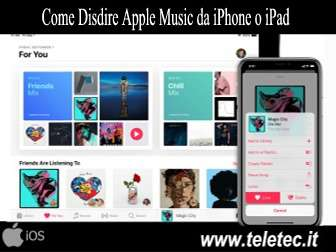 Come Disdire Apple Music da iPhone o iPad