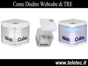 Come Disdire Webcube di TRE