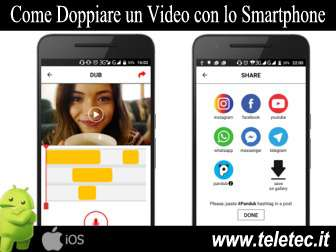 Come Doppiare un Video con lo Smartphone