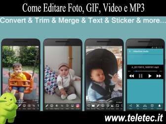 Come Editare Foto, GIF, Video e MP3 con Video2me e Android