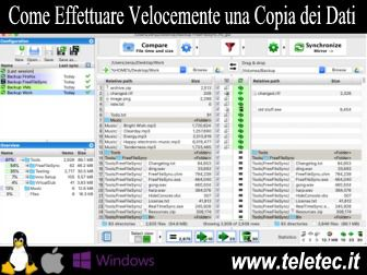 Come Effettuare Velocemente una Copia dei Dati per Windows, Linux e Mac - FreeFileSync