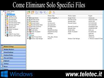 Come Eliminare da una Cartella di Windows solo un Determinato Tipo di File