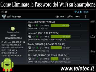 Come Eliminare la Password del WiFi su Smartphone Android