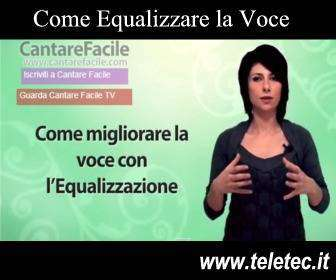 Come Equalizzare la Voce