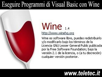 Come Eseguire Programmi di Visual Basic con Wine e Linux