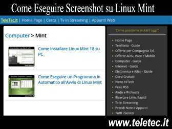 Come Eseguire Screenshot su Linux Mint