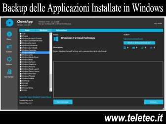 Come Eseguire una Copia di Sicurezza dei Programmi Installati in Windows