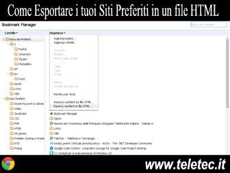 Come Esportare i tuoi Siti Preferiti da Google Chrome in un file HTML