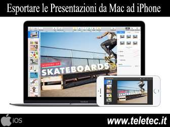 Come Esportare le Presentazioni Keynote con iPhone o iPad