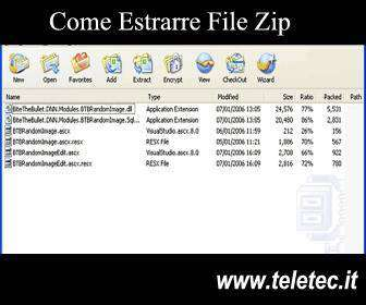 Come Estrarre File Zip