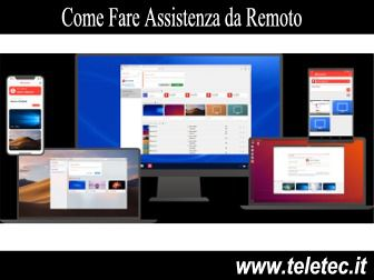 Come Fare Assistenza da Remoto - AnyDesk