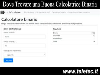 Come Fare Calcoli Binari Online