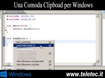 Come Fare Copia / Incolla con Windows Velocemente - ClipX